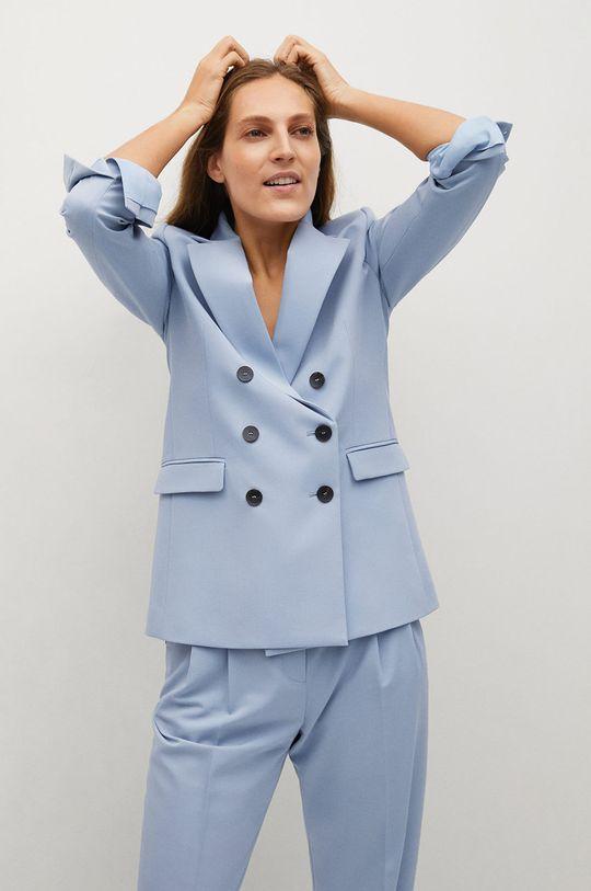 albastru pal Mango - Sacou GRETA