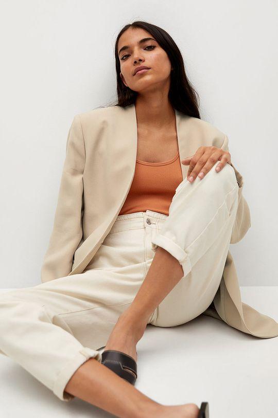 Mango - Sako LOURDES  Podšívka: 100% Polyester Základná látka: 90% Modal, 10% Polyester