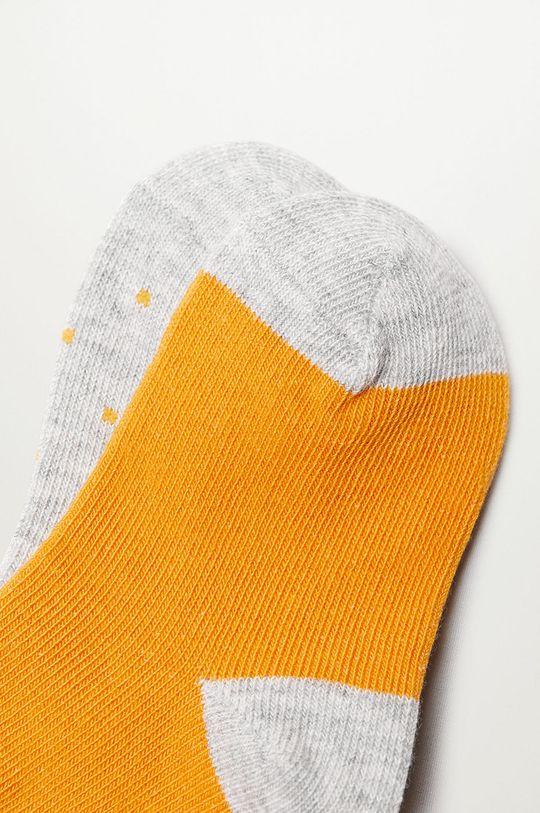 Mango Kids - Detské ponožky SQUARE (2-pak)  72% Bavlna, 2% Elastan, 26% Polyester