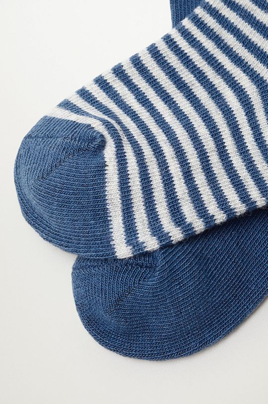 Mango Kids - Detské ponožky CHOP (2-pak) modrá