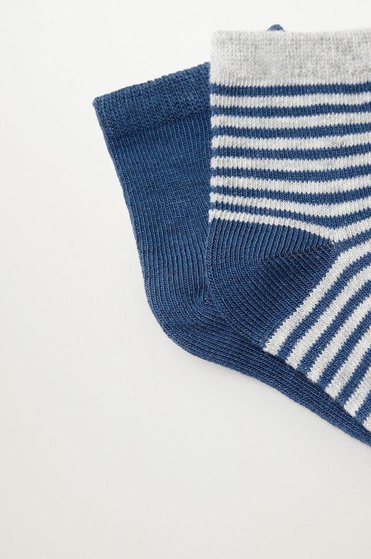 Mango Kids - Detské ponožky CHOP (2-pak)  72% Bavlna, 2% Elastan, 26% Polyester