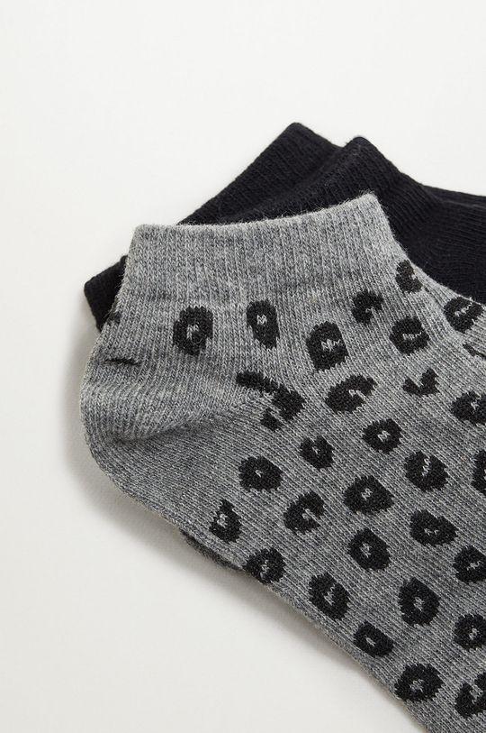 Mango Kids - Detské ponožky CORA (2-pak)  72% Bavlna, 2% Elastan, 26% Polyester