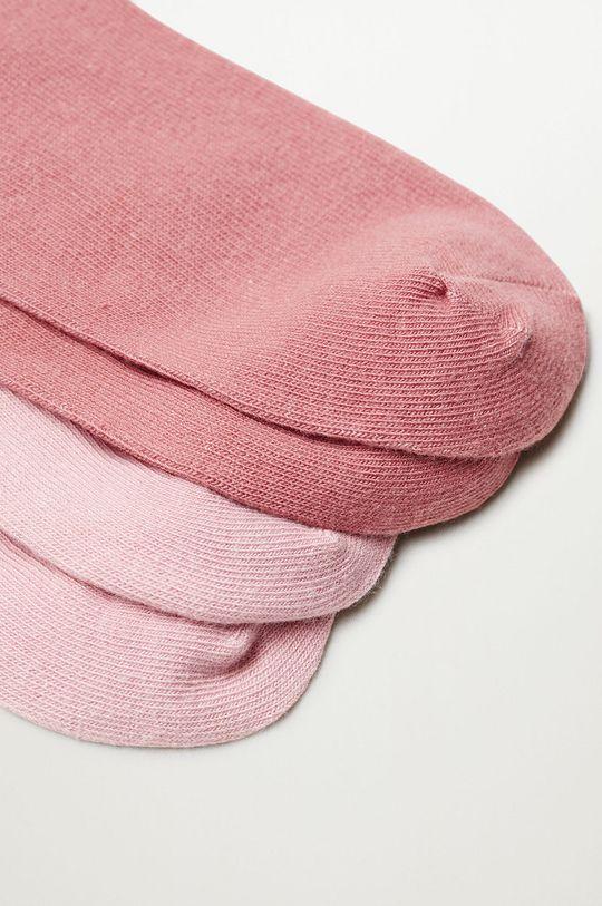 Mango Kids - Detské ponožky SCALLOP (2-pak)  72% Bavlna, 2% Elastan, 26% Polyester