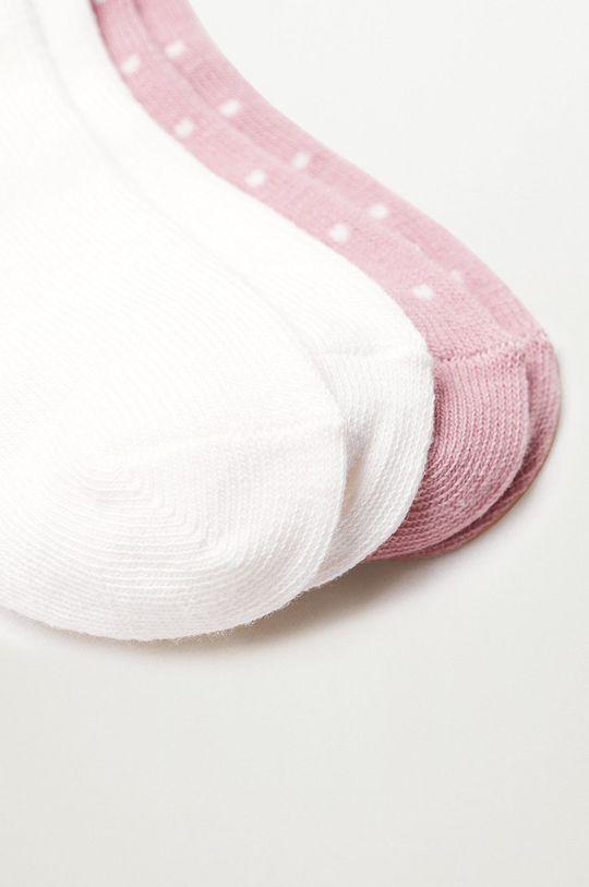 Mango Kids - Detské ponožky OSITO (2-pak)  70% Bavlna, 3% Elastan, 27% Polyester