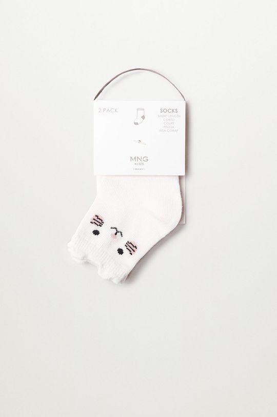 ružová Mango Kids - Detské ponožky OSITO (2-pak)