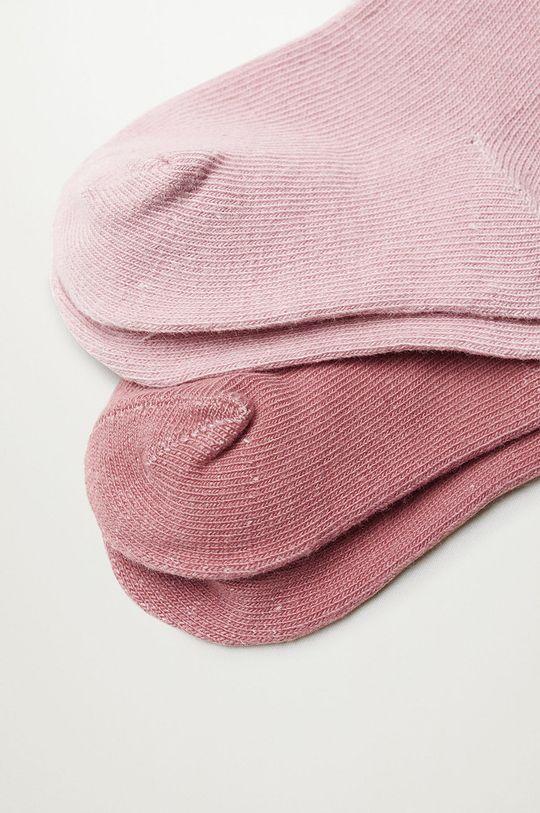 Mango Kids - Detské ponožky WAVE (2-pak)  72% Bavlna, 2% Elastan, 26% Polyester