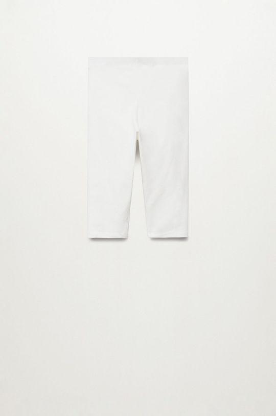 Mango Kids - Detské legíny Ella8 110-164 cm biela