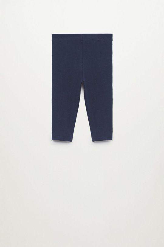 Mango Kids - Dětské legíny Ella8 110-164 cm námořnická modř