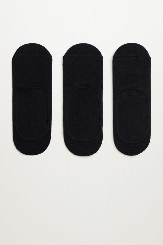 negru Mango Man - Sosete PINKBLA (3-pack) De bărbați