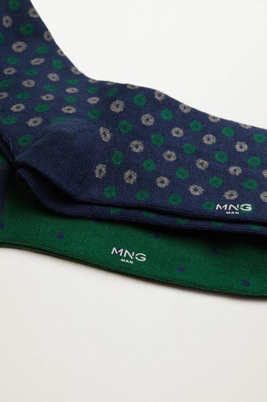Mango Man - Ponožky BOSQUE (2-pak) zelená