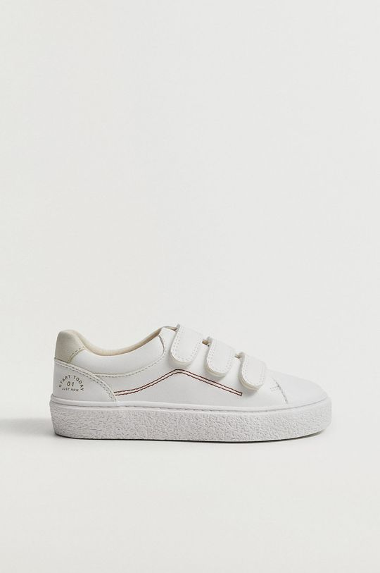 biela Mango Kids - Detské topánky FENCE Chlapčenský