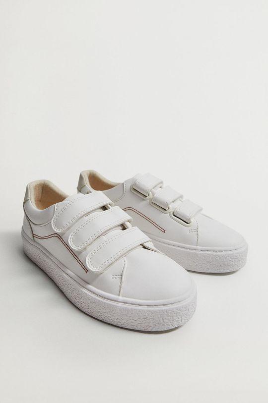 Mango Kids - Detské topánky FENCE biela