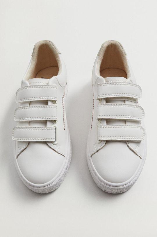 biela Mango Kids - Detské topánky FENCE