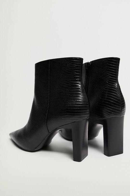 Mango - Členkové topánky MOON čierna