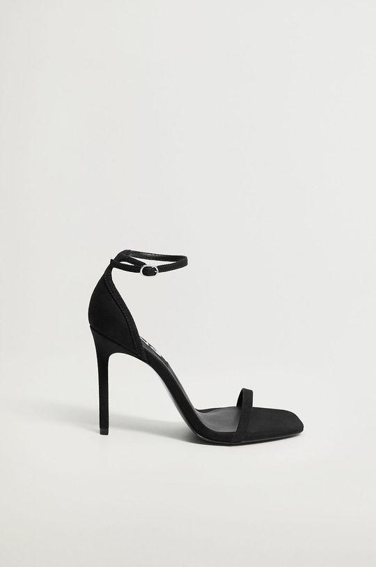 čierna Mango - Sandále AUSSIE Dámsky