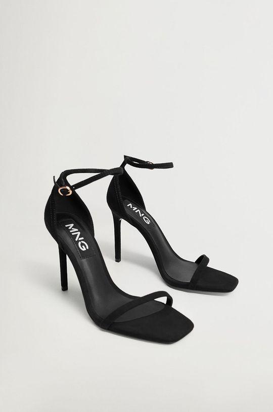 Mango - Sandále AUSSIE čierna