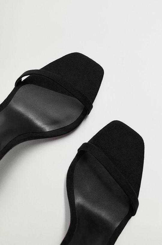 čierna Mango - Sandále AUSSIE