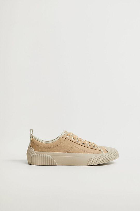 mustar Mango - Pantofi HANK De femei