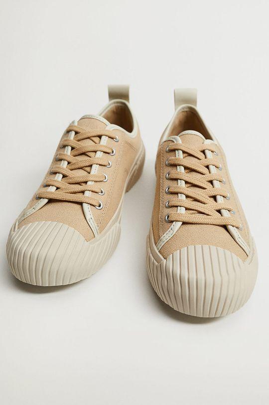 mustar Mango - Pantofi HANK