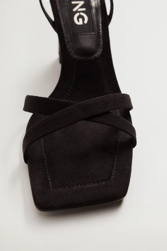 čierna Mango - Sandále OMG