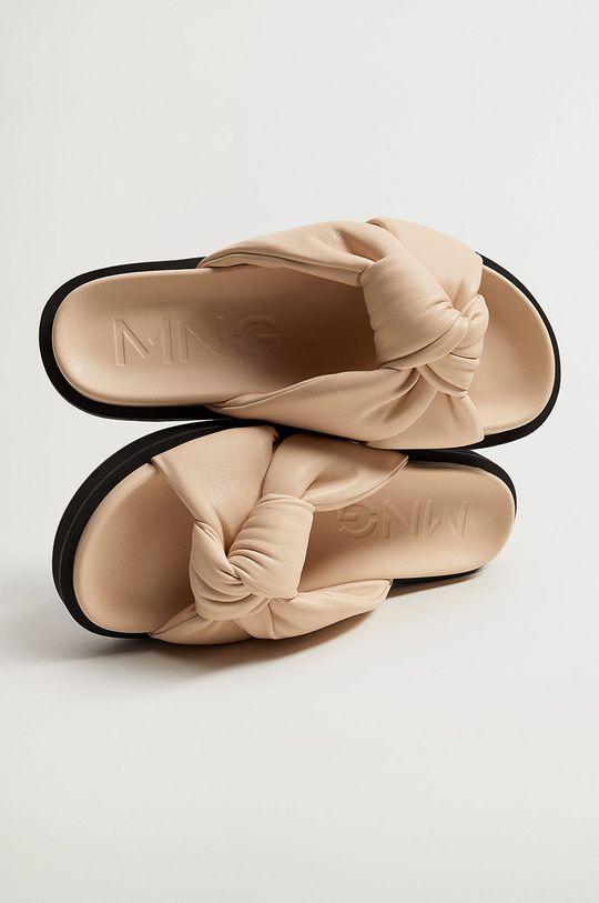 Mango - Pantofle PONTA tělová