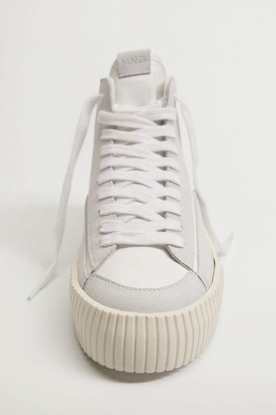 biały Mango - Buty skórzane Hoop
