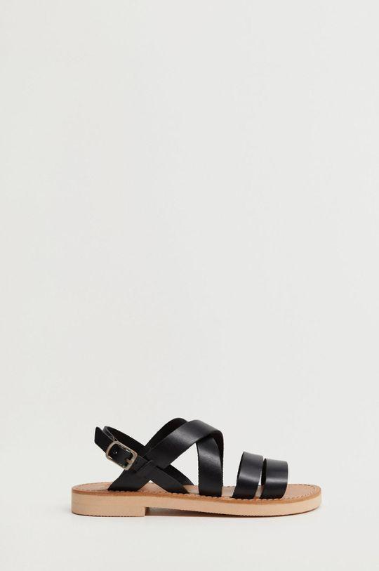 černá Mango Kids - Dětské sandály BRISBANE Dívčí