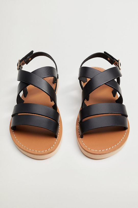 černá Mango Kids - Dětské sandály BRISBANE