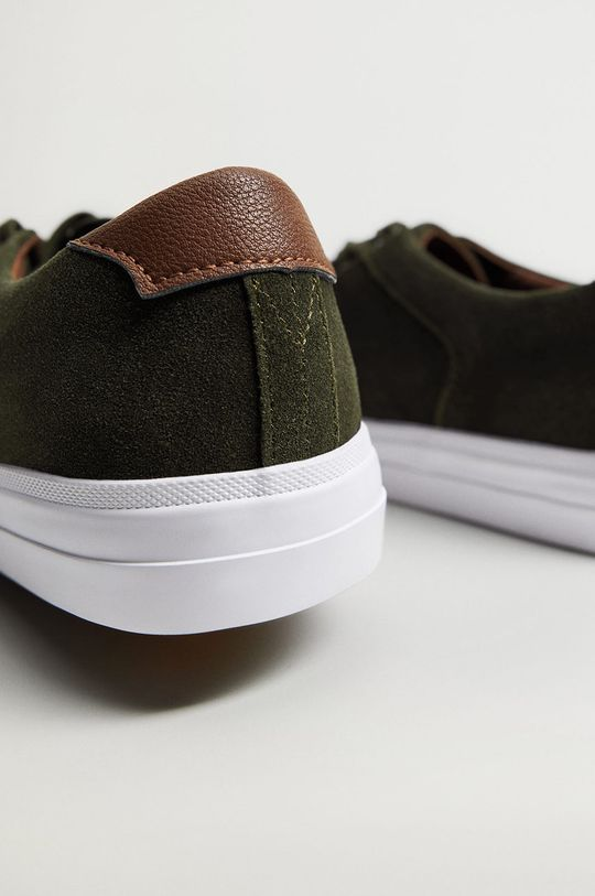 Mango Man - Kožené boty SERRA  Svršek: Telecí kůže Podrážka: Guma Vložka: Textilní materiál