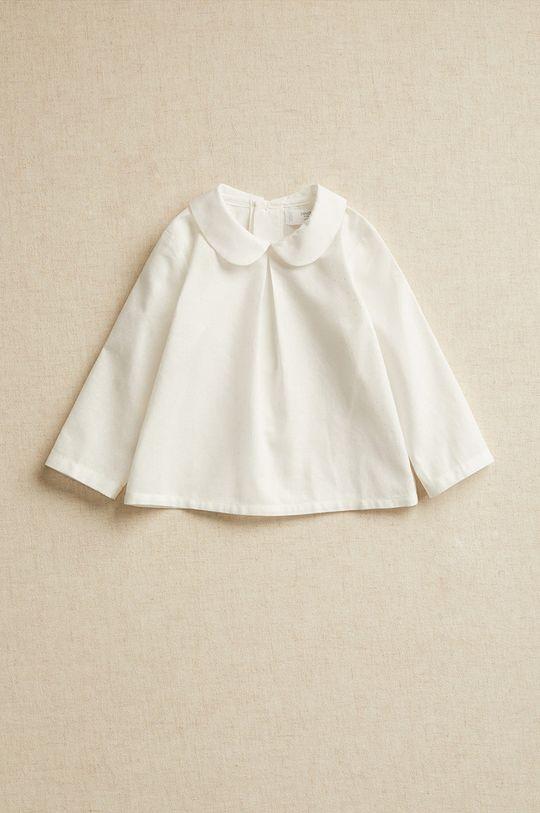 biały Mango Kids - Koszula niemowlęca WILL Dziecięcy