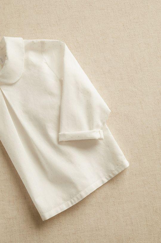 biały Mango Kids - Koszula niemowlęca WILL