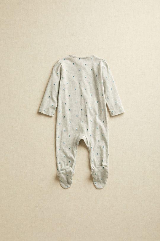 Mango Kids - Śpioszki niemowlęce JACKNB szary