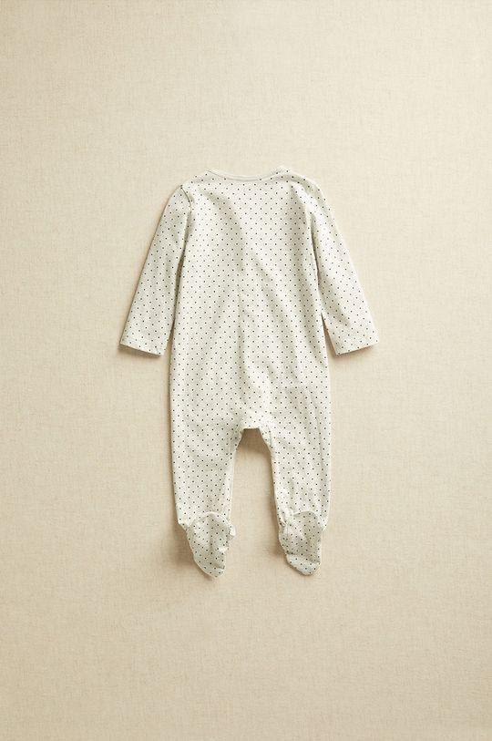 Mango Kids - Śpioszki niemowlęce CARLOTAN jasny szary
