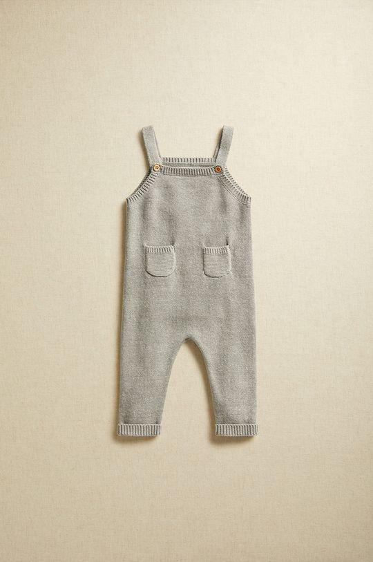 sivá Mango Kids - Nohavice pre bábätká LIAM Detský