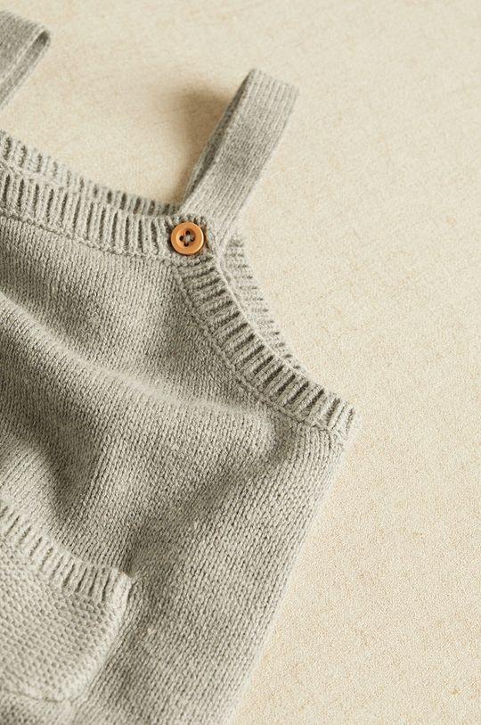 Mango Kids - Nohavice pre bábätká LIAM sivá