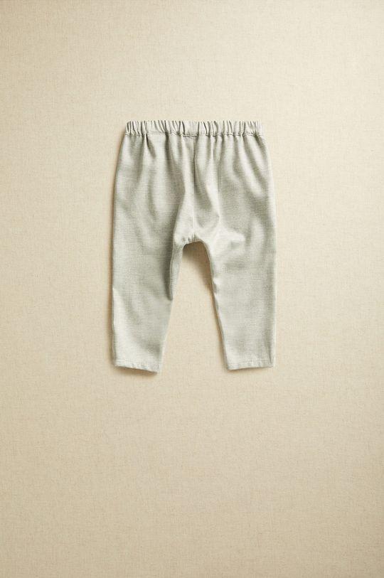 gri deschis Mango Kids - Pantaloni bebe CARLOS