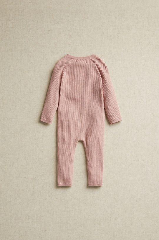 pastelowy różowy Mango Kids - Śpioszki niemowlęce NIDITO8