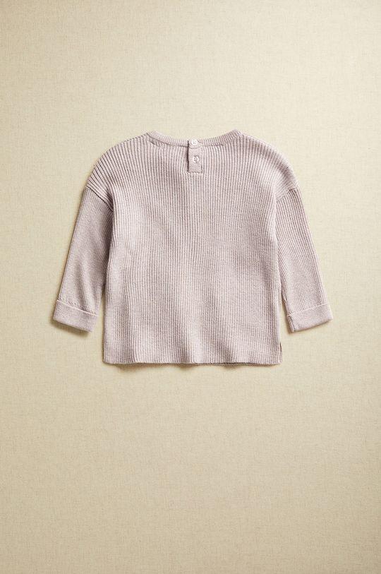 Mango Kids - Kojenecký svetr PAOLA purpurová