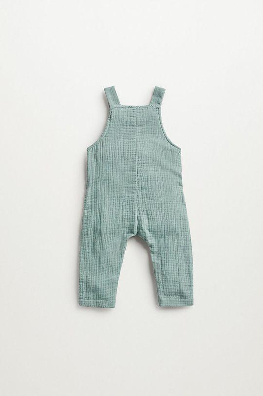 Mango Kids - Kojenecké kalhoty MIKE zelená
