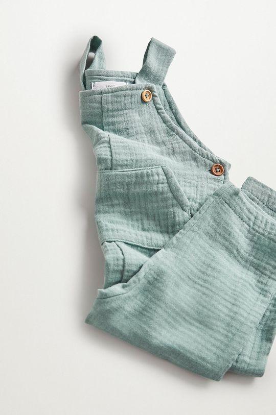 zelená Mango Kids - Kojenecké kalhoty MIKE