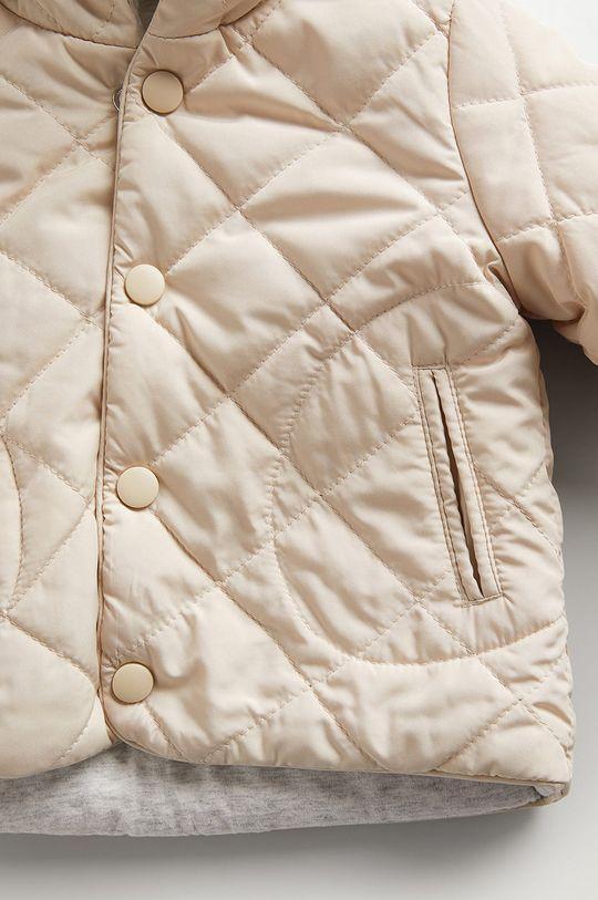 Mango Kids - Kojenecká bunda SAMY  Podšívka: 100% Bavlna Výplň: 100% Recyklovaný polyester Hlavní materiál: 100% Polyester Podšívka rukávů: 100% Polyester
