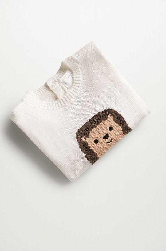 Mango Kids - Kojenecký svetr PINCHO  100% Organická bavlna