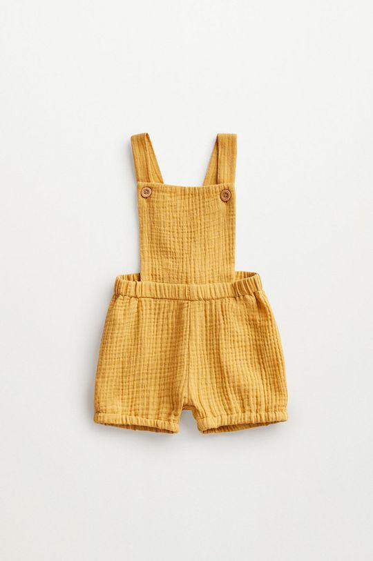 żółty Mango Kids - Szorty niemowlęce Marion 62-80 cm Dziecięcy