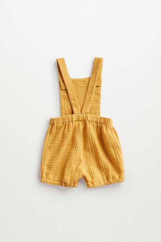 żółty Mango Kids - Szorty niemowlęce Marion 62-80 cm