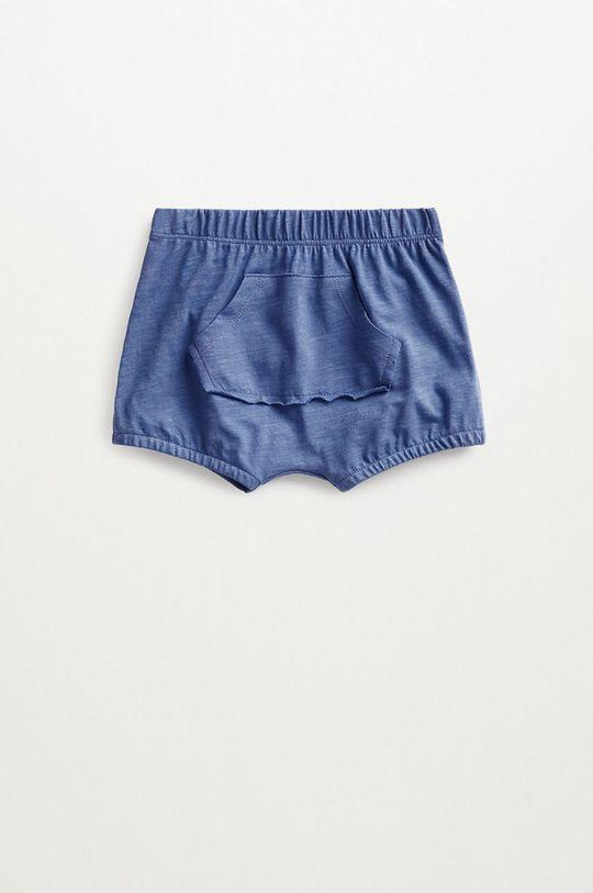 niebieski Mango Kids - Szorty niemowlęce JUMP Dziecięcy