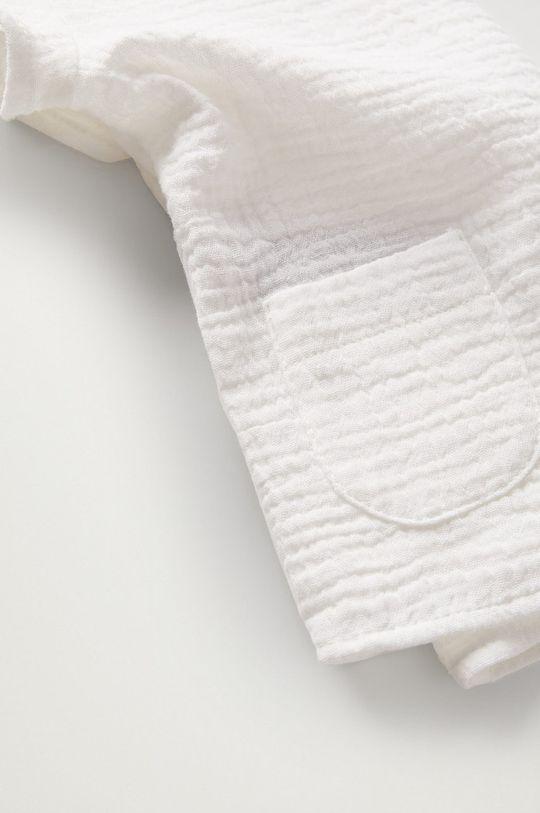 Mango Kids - Bluzka bawełniana niemowlęca FABIO 100 % Bawełna organiczna