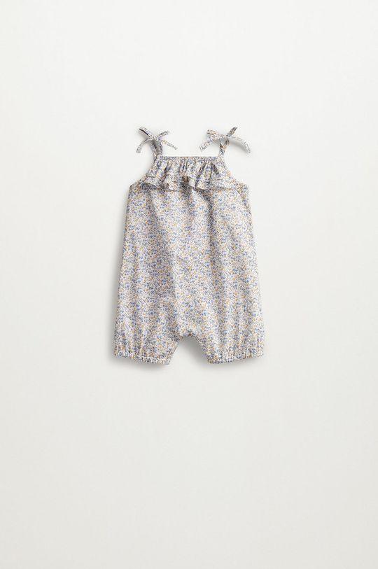 brązowy Mango Kids - Pajacyk niemowlęcy Matilda 62-86 cm Dziecięcy