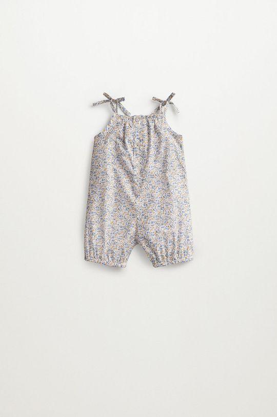 Mango Kids - Pajacyk niemowlęcy Matilda 62-86 cm brązowy