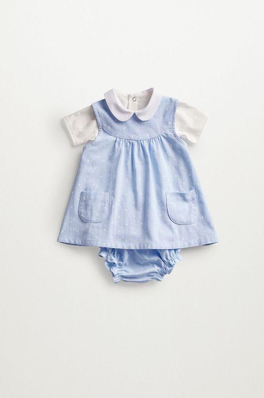 Mango Kids - Sukienka niemowlęca FLORIDA 80 % Bawełna, 20 % Poliester