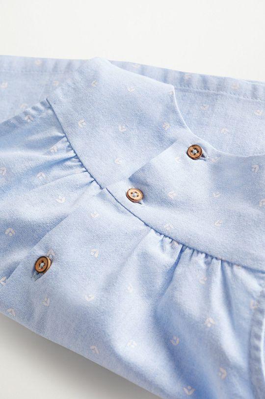 blady niebieski Mango Kids - Sukienka niemowlęca FLORIDA